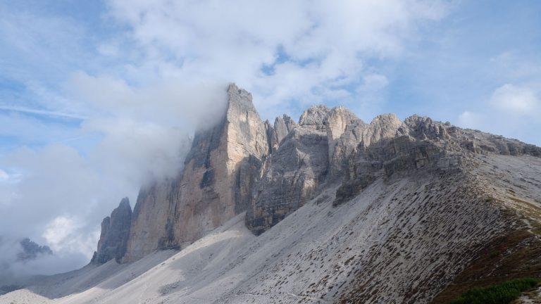 Dolomity. Tre Cime di Lavaredo