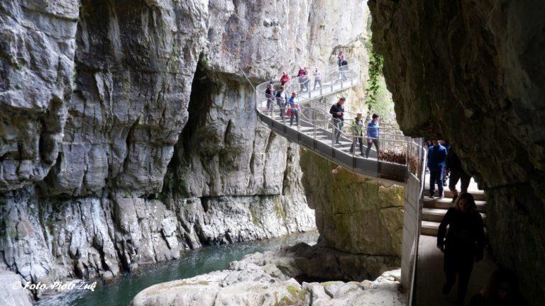 Słowenia. Jaskinie Szkocjańskie