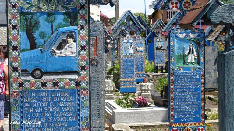 Rumunia. Wesoły cmentarz w Sapancie