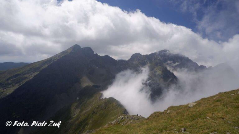 Rumunia. Góry Fogaraskie. Negoiu