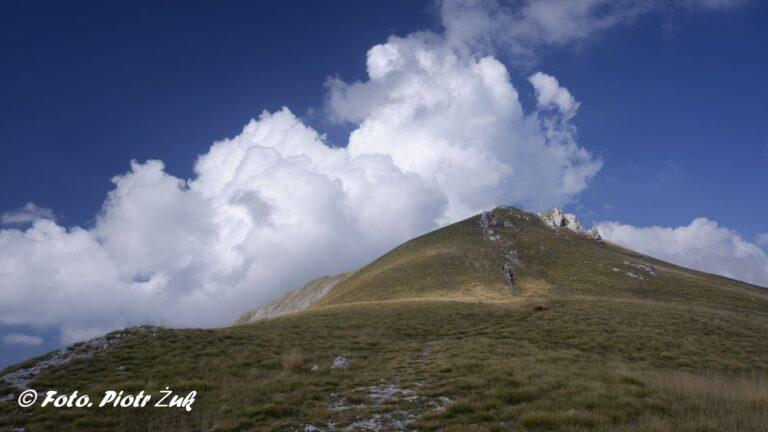 Góry Sybillińskie. Monte Bova i Pizzo Tre Vescovi