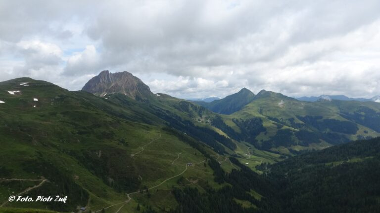 Alpy Kitzbuchelskie. Grosser Retterstein
