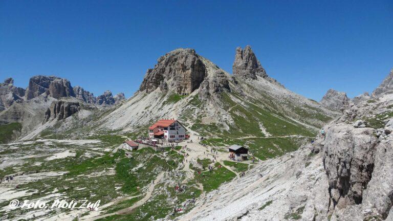 Dolomity. Monte Paterno