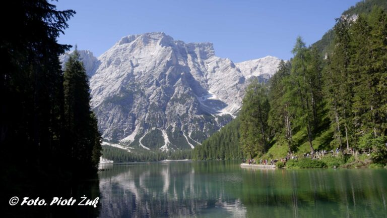 Dolomity. Lago di Braies