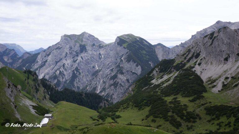 Alpy. Karwendel. Sonnjoch