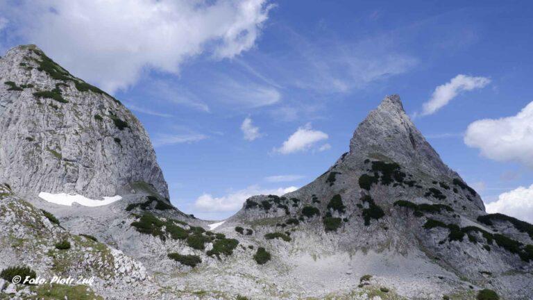 Alpy. Kaisergebirge. Ackerlspitze