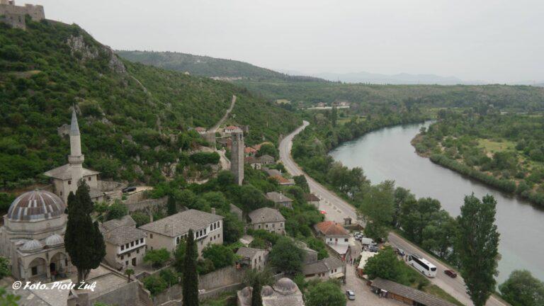 Bośnia. Počitelj