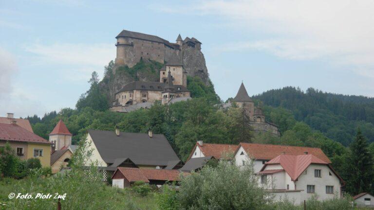 Słowacja. Oravski hrad