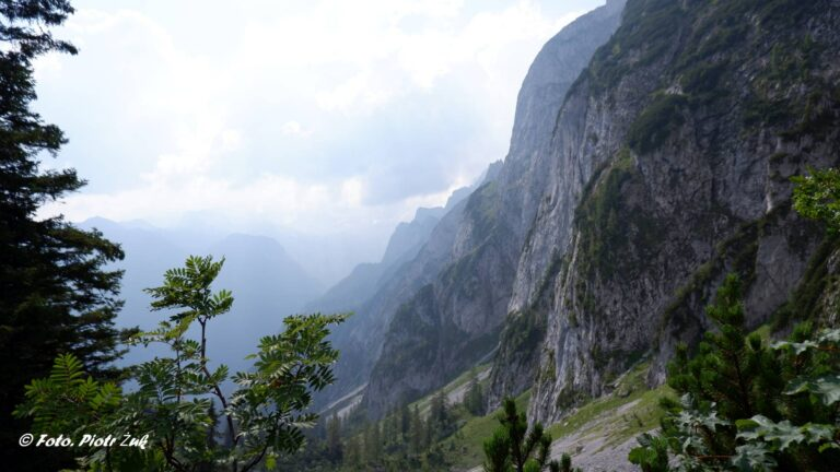 Alpy. Masyw Dachsteinu. Gossaukamm